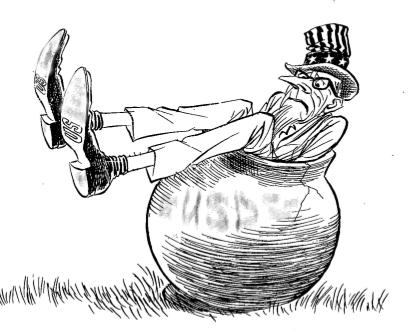 Crash of us dollar the usa government debt