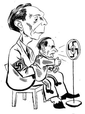 Joseph Goebbels Reich propaganda minister