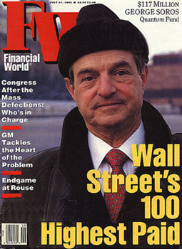 George Soros on Wall Street 100 Highest Paid